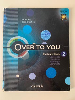Libro inglés Over to You