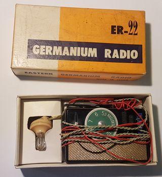 Radio Galena bolsillo-Eastern Germanium Pocket