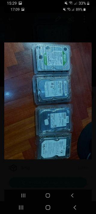 Disco duro 1tb, 1.5tb Sata 3.5