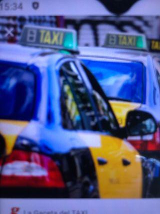 Compro Licencia taxi Barcelona