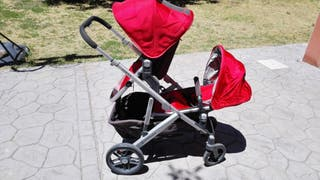 Silla paseo uppababy vista color rojo modelo 2015