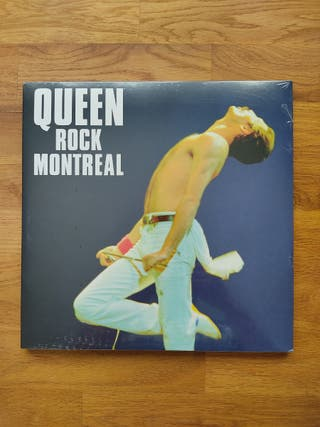 "QUEEN ""rock montreal"" vinilo"