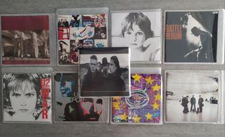 9 DISCOS ORIGINALES DE U2