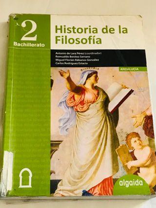 Historia de la Filosofía 2° de Bachillerato
