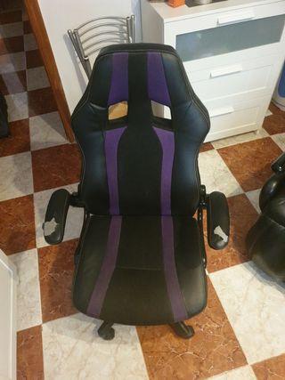silla gaming con base rota, para repuesto