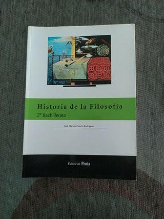 Libro de 2 Bachillerato Historia de filosofía