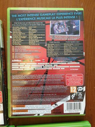 Guitar Hero Xbox 360