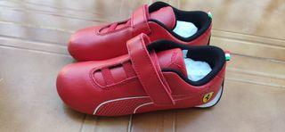 Zapatillas Puma Ferrari talla 27