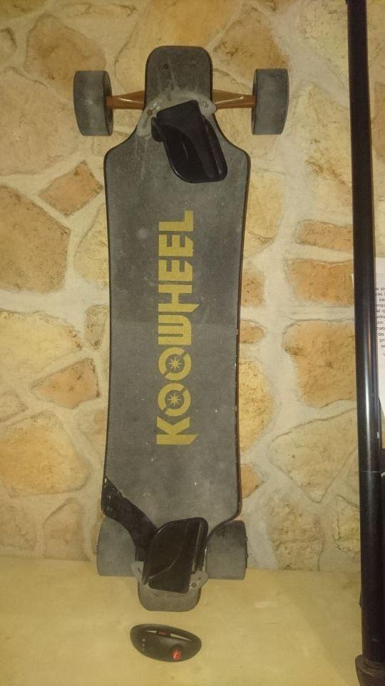 Longboard Electrico Koowheel