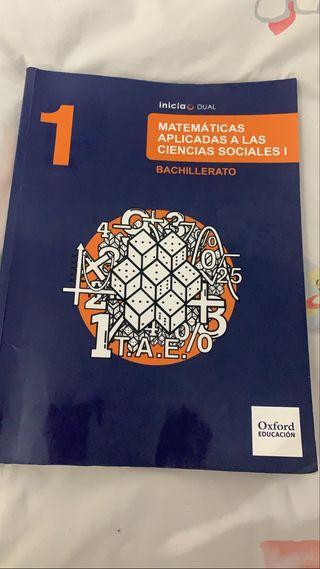 Libro de matemáticas aplicadas ciencias sociales.