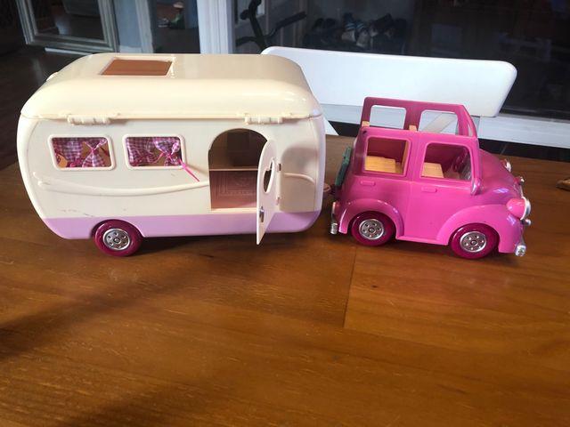 Caravana Camomille y coche de Imaginarium