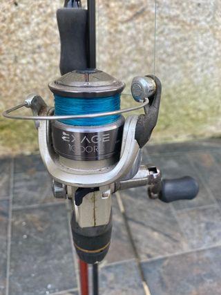 Caña de pescar shimano
