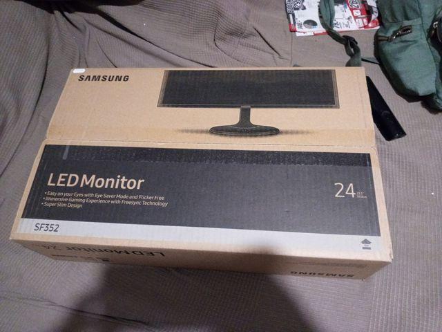 monitor led samsung 24 pulgadas