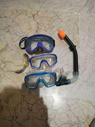 Gafas de piscina y buceo urge