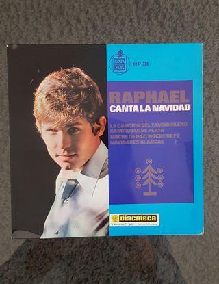 """DISCO SINGLE """"RAPHAEL CANTA LA NAVIDAD"""""""