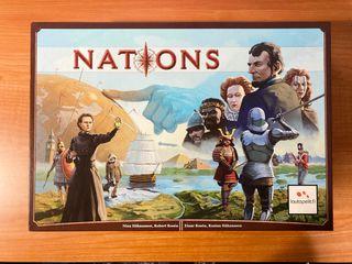 NATIONS [ NUEVO ] Juego de mesa. Castellano.