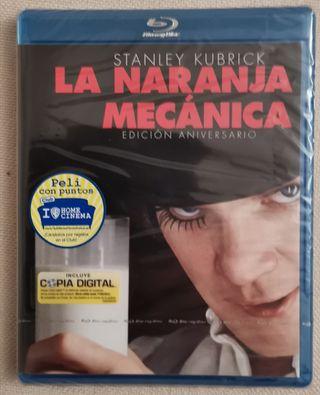 La Naranja Mecánica Blu-ray