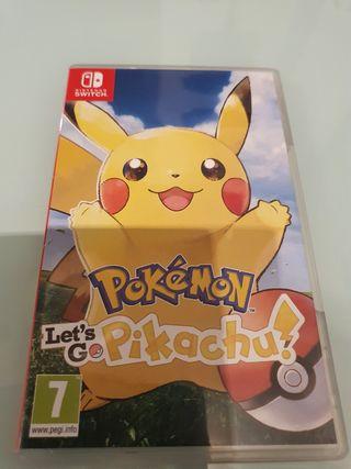 Let's go Pikachu Nintendo switch