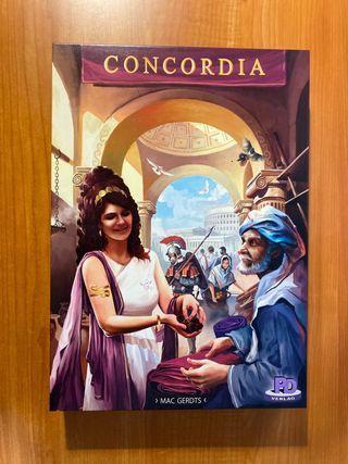 CONCORDIA + EXPANSIÓN [ NUEVO ] Juego de mesa