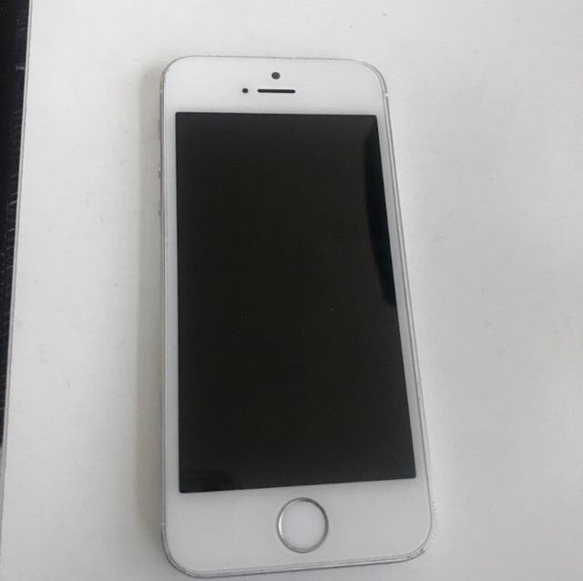 Silver iPhone 5
