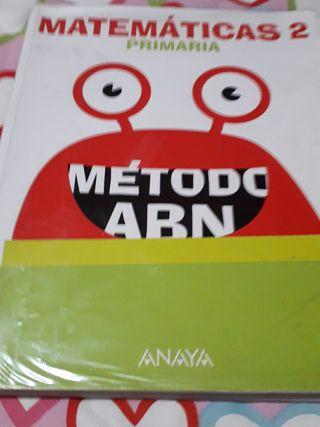 Matematicas Metodo ABN Anaya - 2° primaria