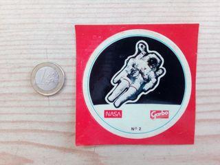 Pegatina Adhesivo NASA Garbo