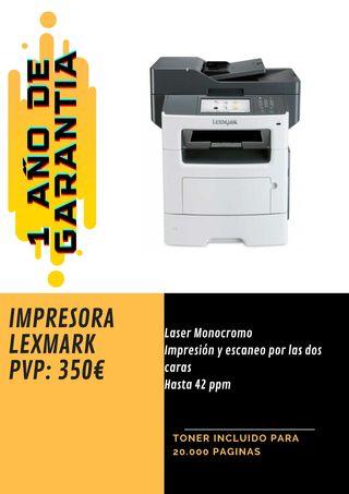 IMPRESORA LEXMARK MX511de