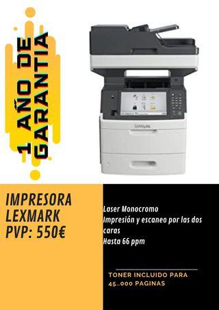 IMPRESORA MULTIFUNCION LEXMARK MX711dhe