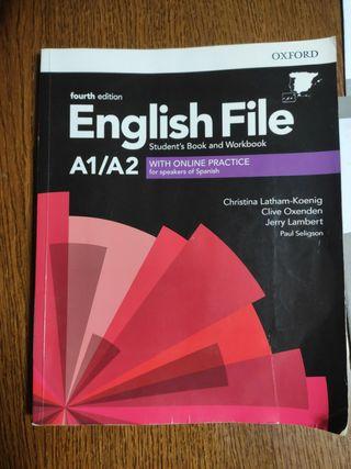 Libro de ingles escuela de idiomas A1/A2