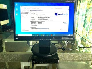 "Lenovo Thinkcenter Tiny M92p + Monitor 19"""