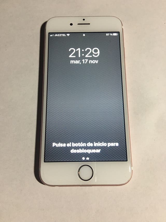 iPhone 6S color rosa metalizado