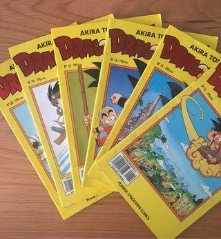 Comics Dragon Ball serie amarilla