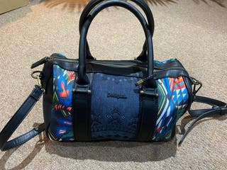 Desigual handbag and belt
