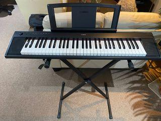 Yamaha NP-11 Piaggero Slimline Home Keyboard