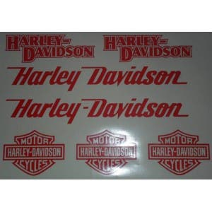 kit de lamina de juego harley davidson casco moto