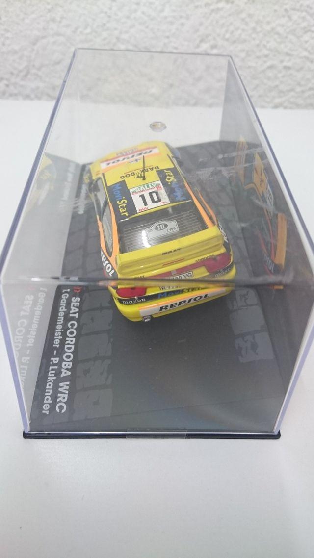 Maqueta Seat Cordoba WRC 1/43 Gardemeister