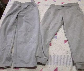 Lote 2 pantalones de chandal