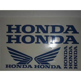 pliego de lamina honda adesivo sticker casco moto