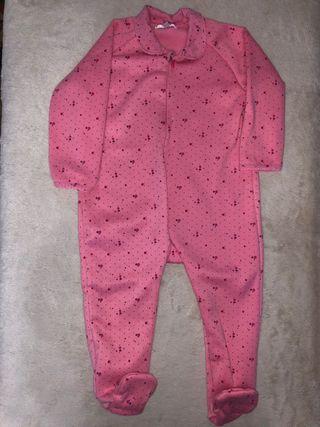 Lote de 6 pijamas de invierno para bebé