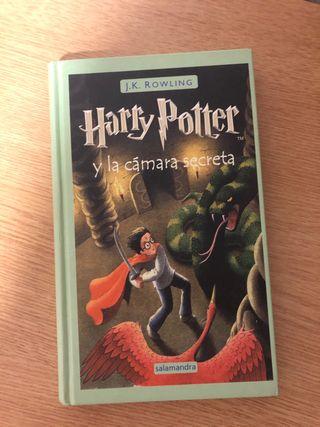 La cámara secreta libro harry potter