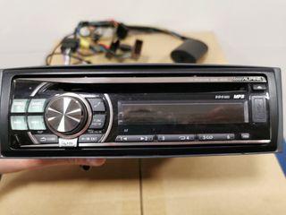 """Radio CD con Mp3 y USB para coche """"Alpine"""""""