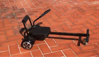 Hoverboard con silla kart