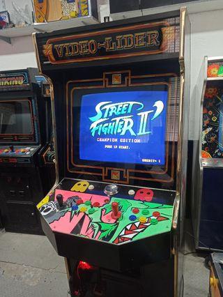maquina recreativa arcade video líder 28