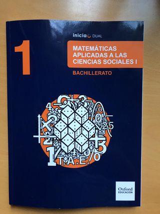 Libro de Matemáticas Aplicadas a Ciencias sociale