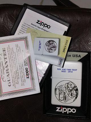 ZIPPO mechero colección grabado