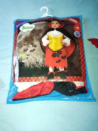 disfraz halloween vampirina niña 12-24 meses