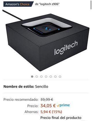 Logitech Receptor de Audio Inalámbrico