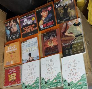 Lote 171 audio libros y 22 libros en inglés
