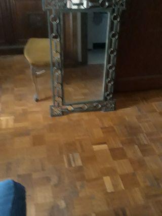 Espejo hierro forjado
