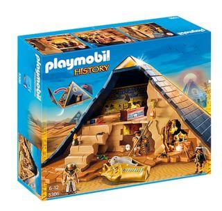 Playmobil History. Pirámide Egipto